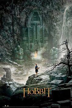 Poster El Hobbit La Desolación de Smaug   Carteles de Cine y Posters