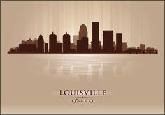 Louisville Skyline by AdorableInvitations on Etsy