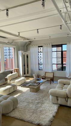 Dream Home Design, My Dream Home, Home Interior Design, House Design, Living Room Interior, Dream Apartment, Decoration Design, Aesthetic Rooms, Dream Rooms
