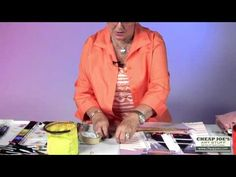 How To Draw a Straight Line Without Smearing With Watercolor Artist Anne Abgott - YouTube