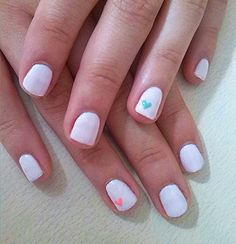 #cutenails light pink