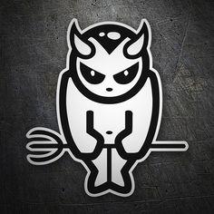 Pegatinas: Devil #coche #pegatina #sticker