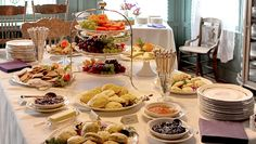 Breakfast food reception