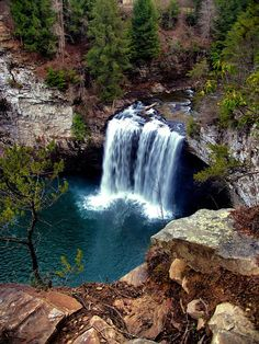 ✯ Cane Creek Falls - Fall Creek Falls State Park, Tennessee, favorite camping trip with my Mom as a kid Oh The Places You'll Go, Places To Travel, Places To Visit, Travel Destinations, Travel Tips, Beautiful Waterfalls, Beautiful Landscapes, State Parks, Les Cascades