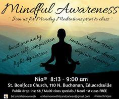 Monday Meditation & Nia® at St. Boniface Church, Edwardsville | Liz Lane | Pulse | LinkedIn