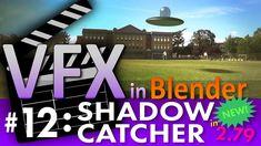 Blender VFX Tutorial #12: Shadow Catcher (New in 2.79!) #b3d