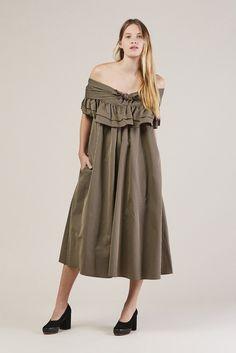 Ruffle Knot Dress, Moda Club by Isa Arfen