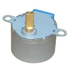 TKYJ permanent magnet decelerating synchronous motor (28TKYJ) Step angle Accuracy:±10% High Synchronous speed:15rpm High Dielectric Strength:AC 600V 1s  Technique parameter: Step angle Accuracy:±10% (fullstep ,no load) Resistance Accuracy:±10% Temoerature Rise:60℃.(rated current,2 phase on) Ambient Temperature:-10℃~+50℃ Insulation Resistance:100MΩ Min. ,500VDC Dielectric Resistance:600VAC , 1s , 1mA Shaft Radial Play;0.05mmMax http://www.haisheng-motor.com