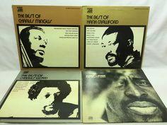 Jazz Lot of 4 Vinyl Record Albums - Mingus, Crawford, Lloyd, + Lateef