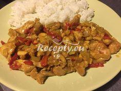 ▷ Jednoduchá rychlá kuřecí čína - Recepty.eu Kung Pao Chicken, Chinese, Meat, Ethnic Recipes, Cooking, Chinese Language