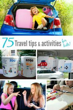 75+ travel tips & activities for kids - Makeovers & Motherhood