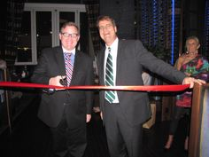 Ribbon Cutting Ceremony at Grille 401