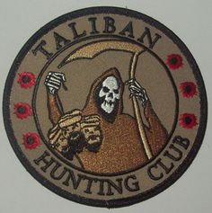 Taliban Hunting Club - U.S. Army morale patch