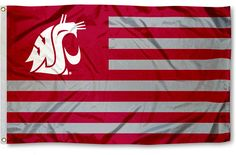 Washington State Cougar Nation Flag!!  LOVE it!