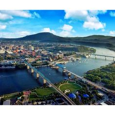 My home Chattanooga, Tennessee. Chattanooga, when I moved away, I left my heart there.