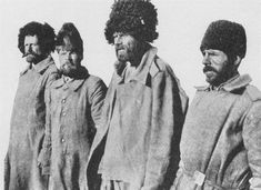 First World War: Imperial Russian Army POWs captured by the Germans on the Eastern Front. The Russians capitulated in 1917 as the Bolshevik Revolution took hold.