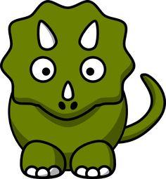 Cartoon Dinosaur Pictures | Studiofibonacci Cartoon Triceratops clip art - vector clip art online ...