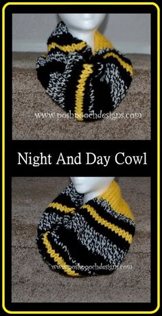 This knit cowl Posh Pooch Designs made with Wool-Ease looks like a perfect gift for hockey fans.  Check out the pattern on her blog.