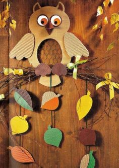My type of idea Fall Arts And Crafts, Creative Arts And Crafts, Autumn Crafts, Fall Crafts For Kids, Autumn Art, Autumn Activities, Craft Activities For Kids, Preschool Crafts, Eid Crafts