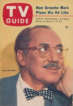 Groucho on the TV guide