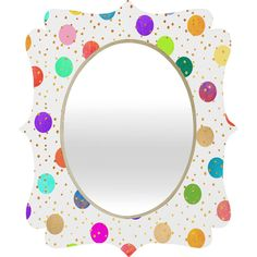 Elisabeth Fredriksson Time To Celebrate Quatrefoil Mirror | DENY Designs Home Accessories