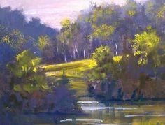 In The Trees by nancy quiaoit   www.nancyqart.com on Etsy