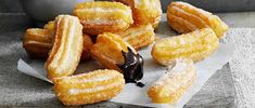 Churros with hot chocolate sauce recipe