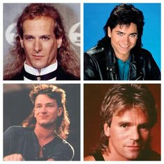 Famous mullets of the 80's!     ~D~