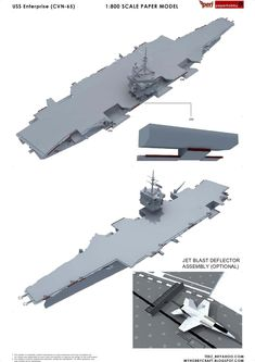 USS Enterprise , formerly , is the world's first nuclear-powered aircraft carrier and the eighth Uni. Uss Enterprise Cvn 65, Naval, United States Navy, Aircraft Carrier, Us Navy, Warfare, Scale Models, Fighter Jets, Guns