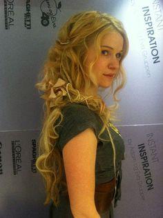 Amazing hair. Real-life Rapunzel Solveig Heilo