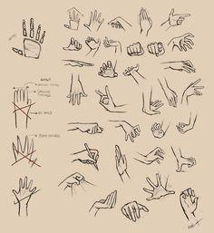 Resultado de imagem para draw hands poses