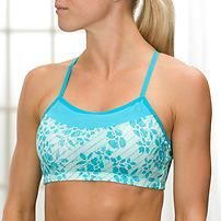 Printed Alexis Bra by Moving Comfort® - http://AmericasMall.com/categories/activewear.html
