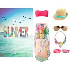 """""""Summer time"""" by rere2111 on Polyvore"""