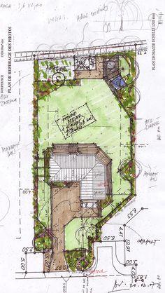 Am nagement de terrasse et jardins maison design et for Dessiner plan jardin