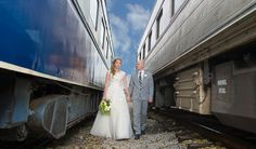 Railroad Wedding Shoot - PHOTO SOURCE • ASHLEY MICHELLE PHOTOGRAPHY
