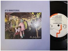 At £4.20  http://www.ebay.co.uk/itm/Its-Immaterial-Eds-Funky-Diner-Siren-Records-7-Single-SIREN-24-/261091330009