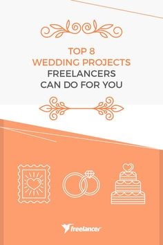Top 8 Wedding Projects Freelancers Can Do for You Budget Wedding, Wedding Themes, Wedding Planning, Project Yourself, Make It Yourself, Wedding Season, Special Day, How To Plan, How To Make