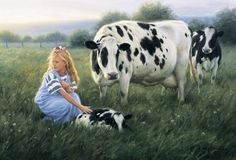 New calf...Robert Duncan, artist