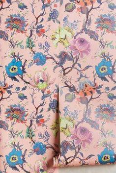 Anthropologie Artemis Wallpaper | Domino
