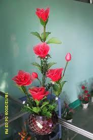 Resultado de imagen para flores de nylon