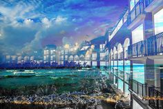 Hotel Resort Photo Montage 01 - No Ordinary Images Here, Only Amazing Ones - We simply hope you'll enjoy them as much as we do. Come take a look ! Photomontage, Line Photography, Montage Photo, Famous Landmarks, Royalty Free Pictures, Us Images, Stock Photos, Stock Pictures, This Is Us
