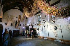 Cotehele Hall garland