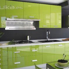 Kit Moduler Kitchen, Kitchen Cupboard Designs, Kitchen Room Design, Kitchen Cabinet Storage, New Kitchen Cabinets, Smart Kitchen, Kitchen Sets, Modern Kitchen Design, Kitchen Colors
