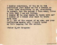 Typewriter Series #582 by Tyler Knott Gregson