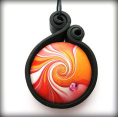 Image result for polymer clay pendant bail ideas