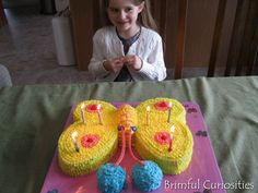 Brimful Curiosities: Wordless Wednesday - Butterfly Birthday Cake