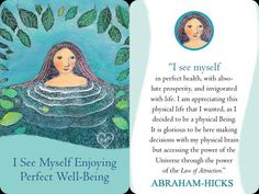 "Abraham-Hicks☆☆☆☆☆Law of Attraction - Card | ""Everything is always working out for me."" ♋"