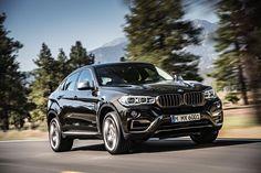 New BMW X6 2014 tracking
