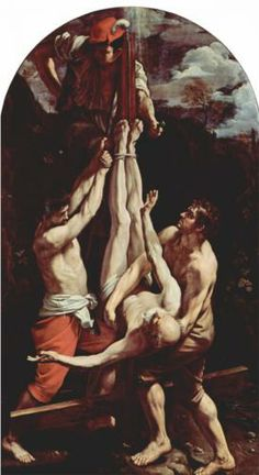 Crucifixion of St. Peter - Guido Reni