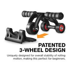 The best weight lifting or training shoes weightlifting muscles vim ab roller wheel wpatented 3 wheel triangular design perfect fitness exercise fandeluxe Gallery